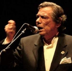 Cantante di flamenco Antonio Núñez Montoya