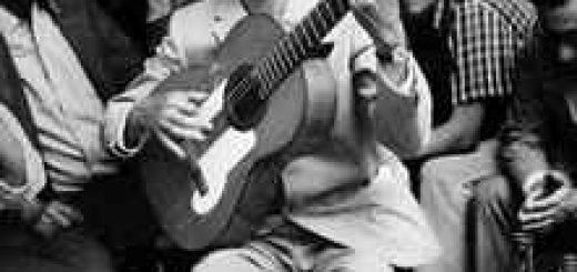Il chitarrista flamenco Diego del Gastor, Diego Flores Amaya