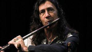 Musicista di musica flamenca Jorge Pardo