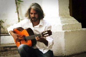 il chitarrista flamenco Miguel Ángel Cortés