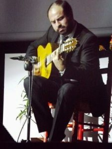 chitarra flamenca di Paco Javiér Jiméno