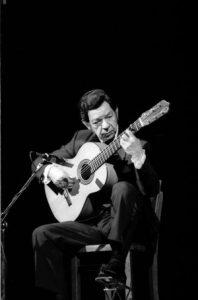 il chitarrista Agustin Castellon Campos Sabicas